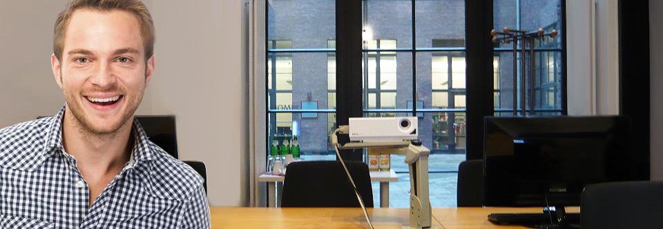 Seminarraum 3 für bis zu 6 Teilnehmer-PCs