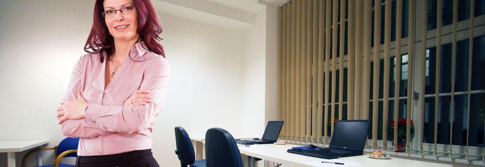 Seminarraum 12 für bis zu 4 Teilnehmer-PCs