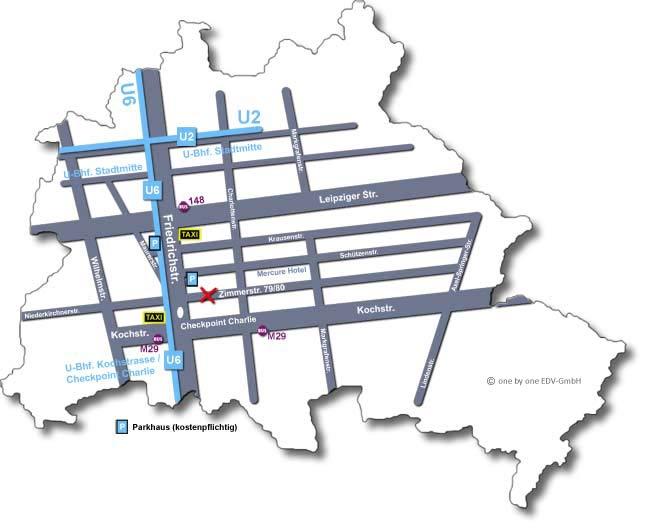 Lageplan Zimmerstr. 79/80 in 10117 Berlin