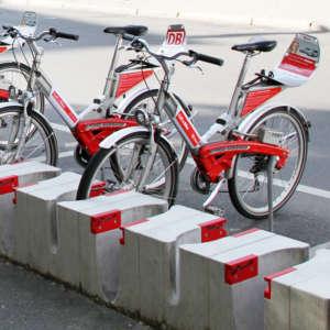 Fahrrad mieten am Checkpoint